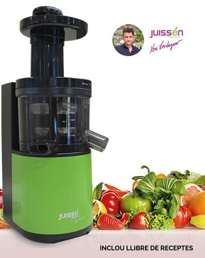 Slow Juicer Xevi Verdaguer : Extractor de sucs Juissen Xevi verdaguer - La Tavella - Cistelles de fruita i verdura ...